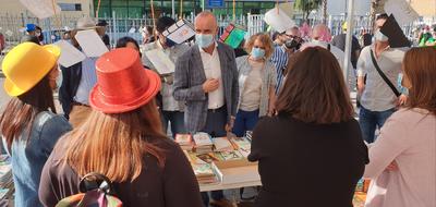 Más de 15.000 personas visitan la Feria del Libro de Torreblanca y sus actividades culturales, que se clausuran este viernes con conciertos