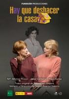 La programación del Teatro Lope de Vega continúa esta semana con el montaje teatral 'Hay que deshacer la casa'