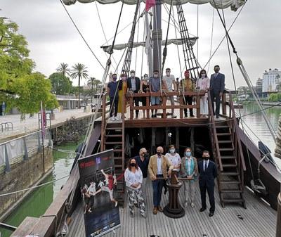 El proyecto internacional de teatro comunitario 'Mundo Magallanes-Elcano' impulsado por TNT/Atalaya sube a escena los días 2 y 3 de octubre dentro de la agenda de la ciudad para conmemorar el V Centenario de la Primera Vuelta al Mundo