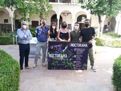 Nocturama vuelve a inundar  de música los jardines del Casino de la Exposición en su 16 edición a partir del próximo 27 de agosto