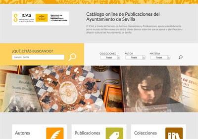 Nuevo catálogo online de Publicaciones del Ayuntamiento de Sevilla