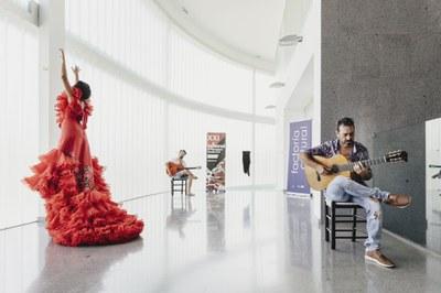 Palomo Spain viste a la bailaora María Moreno para la Bienal