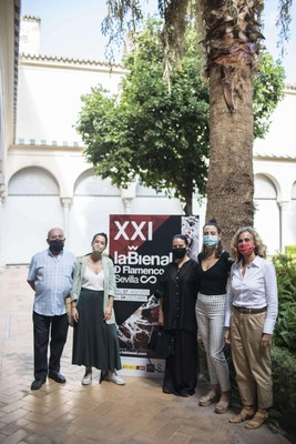 La Piñona, Mercedes de Córdoba, Leonor Leal y Ana Morales llegan al Teatro Central dentro de la programación de la Bienal