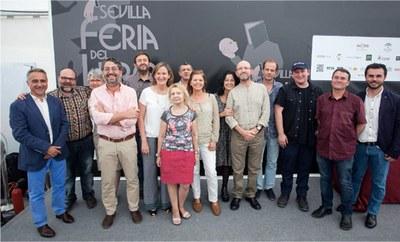 El Departamento de Publicaciones del ICAS recibe el Premio Feria del Libro de Sevilla 2015
