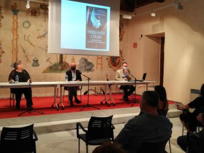 Presentación novela Manuel J. Valdivieso Fontán 'Hernando Colón, el bibliófilo que se enfrentó al emperador'.