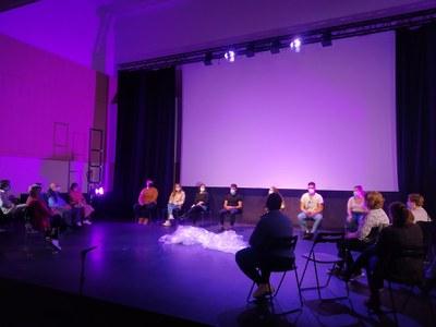 El proyecto 'Raíces y Alas' sube al escenario de Factoría Cultural en forma de espectáculo