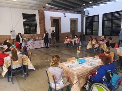 Más de 500 escolares de Primaria participan en el programa educativo de fomento a la lectura 'Restaurante de Libros' del Ayuntamiento de Sevilla