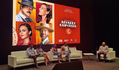 Sevilla acoge el estreno del nuevo espectáculo 'Homenaje a los Álvarez Quintero' de los actores Alfonso Sánchez y Alberto López