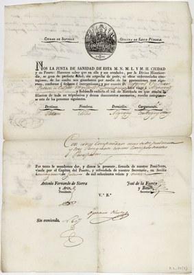 Sevilla en perfecta salud (1829)