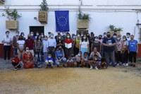Tres Barrios-Amate recoge los premios New European Bauhaus y S+T+ARTS for Social Good con los que ha sido galardonado el proyecto 'Jardines en el aire'