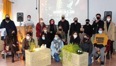 El ICAS promueve la diversidad de Tres Barrios con 'Jardines en el Aire', el proyecto de Luces de Barrio 2020