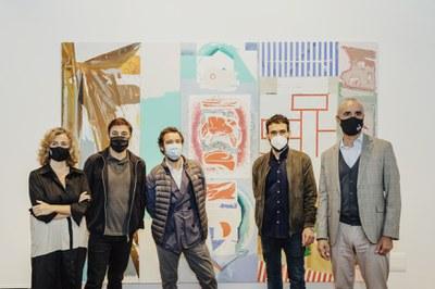 El Espacio Santa Clara del ICAS inaugura 'Tríplex', con obras conjuntas de los pintores sevillanos Luis Gordillo, Miki Leal y Rubén Guerrero