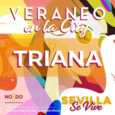 Un homenaje a Cristina Hoyos inaugura el programa 'Veraneo en la City' en el Distrito Triana