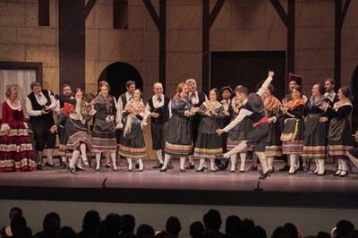 La Compañía Sevillana de Zarzuela regresa este fin de semana al Teatro Lope de Vega con su estreno de 'La Boda y el Baile de Luis Alonso'